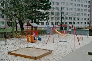Herní prvky na dětské hřiště