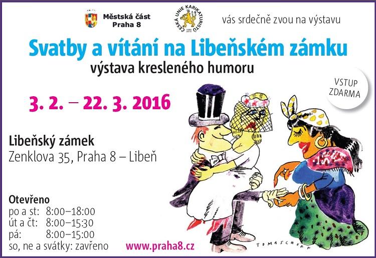 Mc Praha 8 Kalendar Akci Vystava Kresleneho Humoru Svatby A